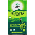 "Ekoloģiska tēja ""Tulsi Green"" ORGANIC INDIA, 25 maisiņi."