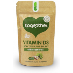 """Pārtikas piedeva """"Vegan D3"""" TOGETHER HEALTH, 30 kaps."""