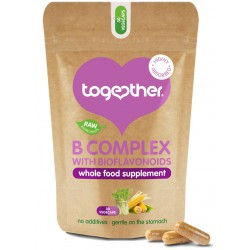 Uztura bagātinātājs WholeVit™ B Complex TOGETHER HEALTH, 30 kapsulas