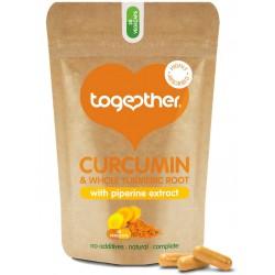 """Uztura bagātinātājs """"Curcumin and Turmeric"""" TOGETHER HEALTH, 30 kapsulas"""