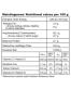 Ekologiški vaistinės juodmirtės milteliai AMRITA, 200 g