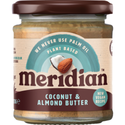 Almond and Coconut Butter MERIDIAN,170 g