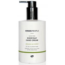 Bekvapis kasdienis rankų kremas GREEN PEOPLE, 300 ml