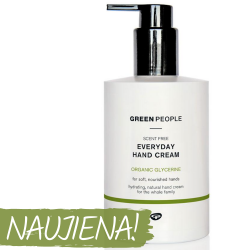 Scent Free Daily Hand Cream GREEN PEOPLE, 300 ml