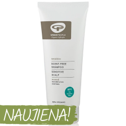 Neutral Shampoo for Sensitive Skin GREEN PEOPLE, 200 ml