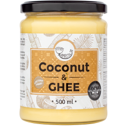 A mix of coconut oil and ghi butter AMRITA, 500 ml