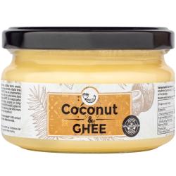 Kokosų aliejaus ir ghi sviesto mišinys AMRITA, 200 ml