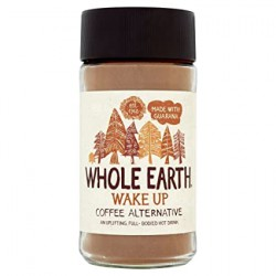 Miežių ir cikorijų kava su guarana WAKE UP WHOLE EARTH, 125g