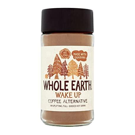 Miežių ir cikorijų kava su guarana WAKE UP WHOLE EARTH, 125g