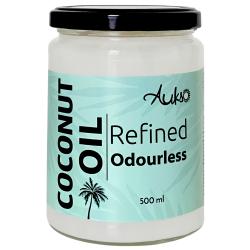 Rafinēta kokosriekstu eļļa AUKSO, 500 ml
