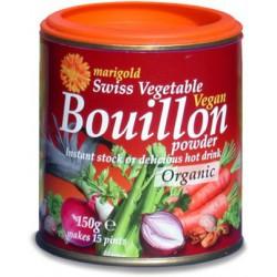 Organisks Šveices dārzeņu buljons MARIGOLD, 150 g