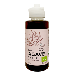Organic Dark Agave Syrup AMRITA, 150 ml