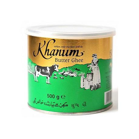 Natūralus lydytas sviestas Ghi KHANUM, 500 g (pažeista pakuotės prekinė išvaizda)