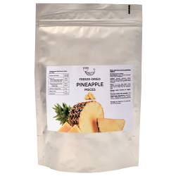 Freeze-dried pineapples (pieces) AMRITA, 100 g