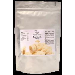 Liofilizēti banāni (sagriezti) AMRITA, 100 g