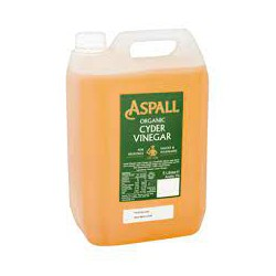 Organic Cider Vinegar ASPALL, 5 l