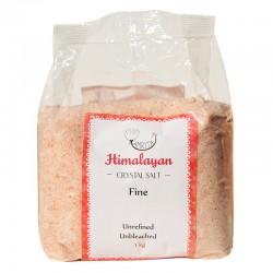 Smalkais rozā Himalaju sāls AMRITA, 1 kg