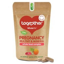 Vitaminai ir mineralai besilaukiančioms PREGNANCY TOGETHER RAW, 60 kaps.