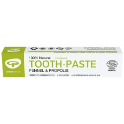 Pankolio dantų pasta GREEN PEOPLE, 50ml