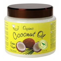 Organic Virgin Cosmetic Coconut Oil AMRITA, 500 ml