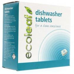 Tabletes trauku mazgājamajai mašīnai ECOLEAF, 70 gab