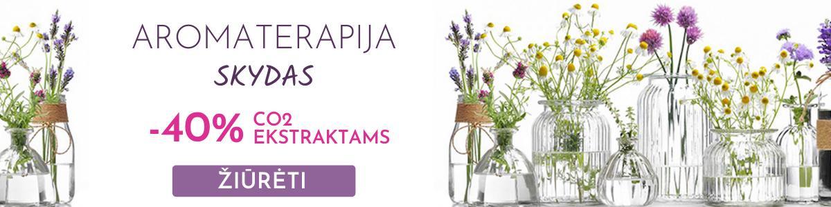Aromaterapija - skydas - eteriniai aliejai nuo viruso
